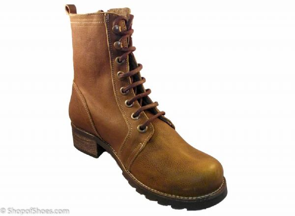 Adesso antique ginger rugged warm winter boot